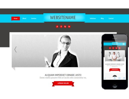full Exemplaria a Corporate Agency Flat Bootstrap