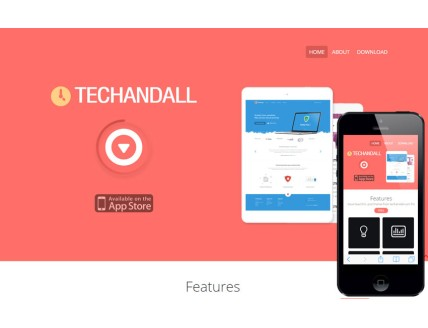 full Techandall a Corporate Agency Flat Bootstrap Responsive Web Template