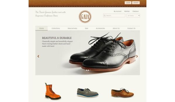 full Gaia a Flat ECommerce Bootstrap