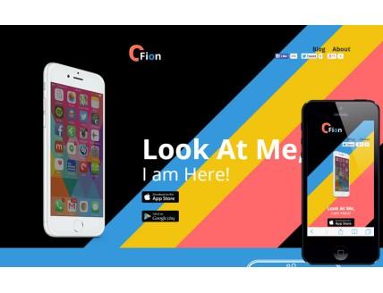 Cfion a landingpage Multipurpose Flat Bootstrap Responsive Web Template