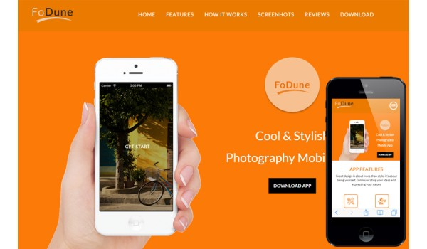 Fodune a Corporate Agency Flat Bootstrap Responsive Web Template