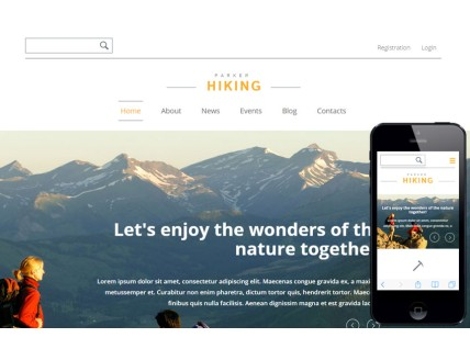 Hiking Sports Category Flat Bootstrap Responsive Web Template