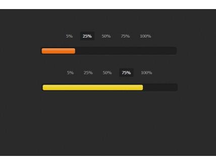 Best bar anim HTML template