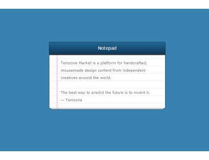 Amazing notepad Html