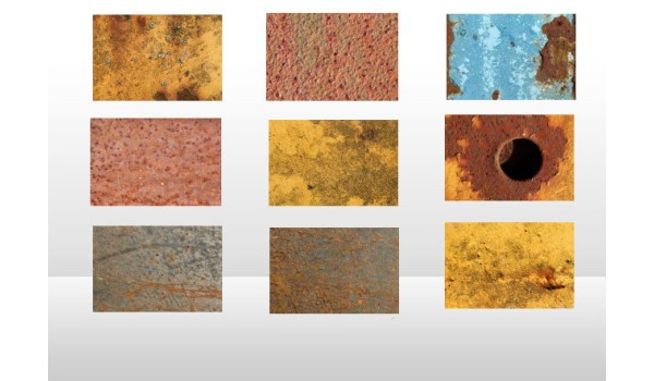 High Resolution Rusty Metal Textures