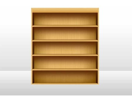 my bookshelf psd