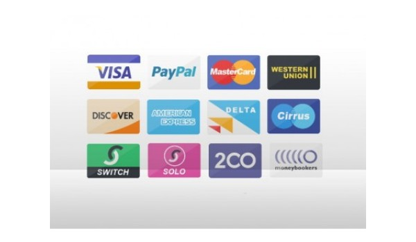 Credit card, design for pay