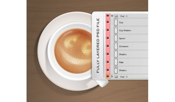 Coffee PSD