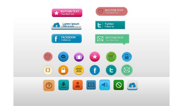 PSD Web Buttons Set 2