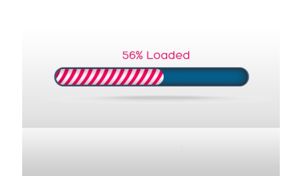 Simple Progress Bar PSD Template
