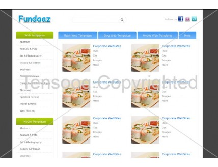 full Fundaaz is a web Store Gallery Template