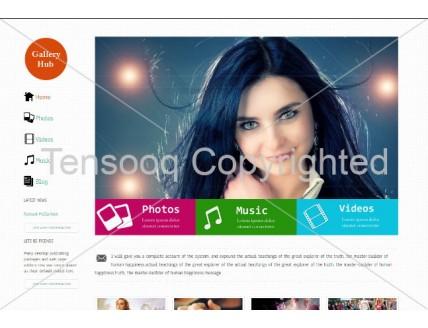 full Gallery Hub entertainment website