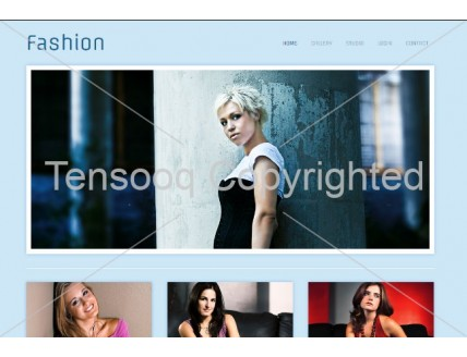 full Fashion Photographers Gallery webtemplate