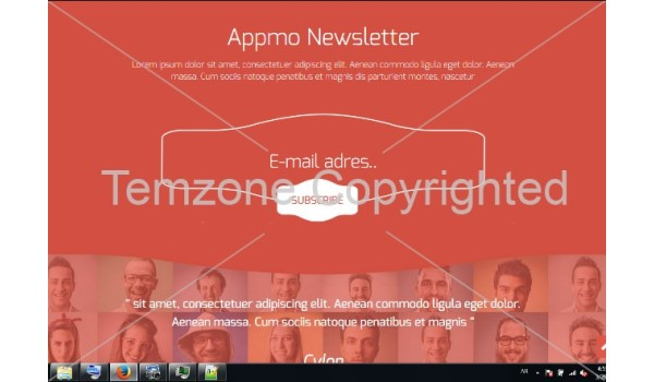 Appmo a Mobile App based Flat Bootstrap