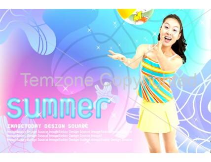 Summer Holiday Flyer Template (PSD)