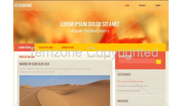 full Blog Name a Blogging Category Flat Bootstrap Web Template